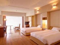 スーペリアツーベッドルーム(81平米/和洋室)