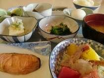 【朝食】壮瞥産『新山米』使用