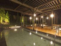 ☆2011年10月8日リニューアル☆石露天風呂に加えて掛け流し温泉の木のお風呂が出来ました!
