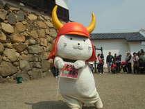 ひこにゃんが登場する彦根城へは車で15分