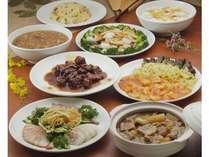 【平日限定】1泊2食12,000円から!夕食は当館中華レストラン「松林」で本格中華コース料理を堪能!