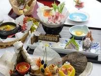 【謝恩特別プラン】この時期なら一番リーズナブル♪人気のコース料理&地産地消ハーフバイキングプラン