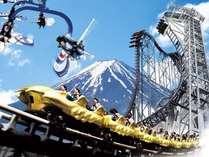 【富士急ハイランドフリーパス1日券付】富士急で遊び放題&名物おばんざいを愉しむ人気のハーフバイキング