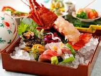 【特別会席】伊勢海老や鮑・金目鯛と海の幸を贅沢に堪能して※