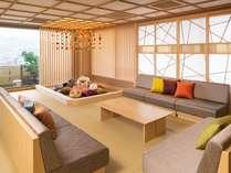 【特別和室】8名定員のゆったりとした客室は三世代旅行など、ご家族やグループでのご旅行にお勧めです。