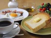 洋朝食付プラン