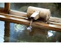 【風呂】総檜の貸切風呂
