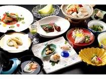 【夕食】会席料理一例(日により献立が変わります)