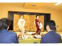 芸妓プラン踊り(さわぎ)