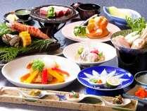 おんせん県!【贅沢編】豊後海山づくしプラン!お食事はご夕食、ご朝食とも会食場プラン!