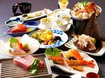 料理自慢大分県産の豊後海山づくし(ご夕食は個室会場又はお部屋)!