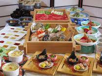 【青龍会席】国産牛と旬菜とタラバ&アワビ&旬魚