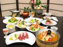 <GWプラン(2)>「国産牛の陶板焼き」と「ズワイガニ」で満喫休日