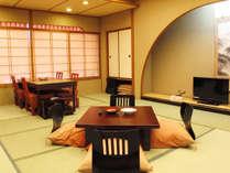 【さんさ亭本館】楽居庵 和室17.5畳(一例)
