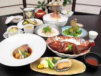 【三陸物語】きんき・フカヒレ・仙台牛・伊勢海老 和洋の饗宴!
