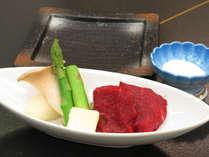 【夏】牛フィレの陶板焼き