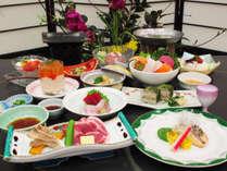 【さんさ亭本館】<夏のお得な会席>「蔵王和豚ジャパンX」と「塩釜水揚げ鮮魚の仙台味噌焼き」◆楽彩会席