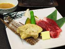 フォアグラ&国産牛の陶板焼き
