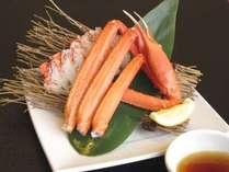 <4月5月平日限定SP> 平日は「牛タンしゃぶしゃぶ」と「旬魚の味噌朴葉焼き」プラス「ズワイガニ」