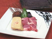フォアグラ&蔵王和豚陶板焼き