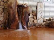 湧き出すときは無色透明、空気に触れると色が変わる有馬の湯。体の芯まで温まります♪