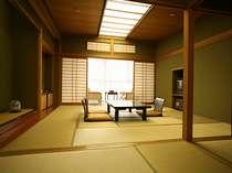 芙蓉山荘2F特別室は純和風の広めの和室
