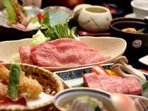 【人気No.1】御苑の牛肉をたっぷりと!神戸牛しゃぶしゃぶ×黒毛和牛ステーキ食べ比べ!美味饗宴会席