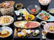 【人気No.2】御苑自慢のブランド牛「神戸ビーフ」を旬の素材とともに楽しむ~季節の和会席プラン