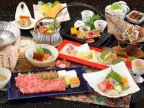 料理一例~神戸牛しゃぶしゃぶ付の全12品