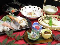 ピリカスタンダードプラン 夕食・寄せ鍋コース料理一例