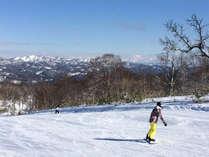 *ピリカスキー場/天気の良い日には、遠くに羊蹄山を遠望出来ます!