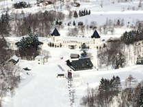 *ピリカスキー場/当館はゲレンデの目の前にあり、スキー・スノボの拠点に最適♪
