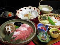 *スタンダード.豚肉陶板コース一例/メイン料理をお好みでセレクトできます。