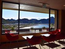 ≪ホテルからの眺望≫長良川と金華山が織りなす景観美