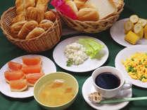 無料朝食サービスもますます充実!