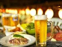 川風に吹かれながら納涼を味わう♪ビールで乾杯!!