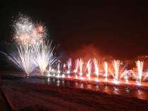 下呂温泉花火ミュージカル冬公演♪ワイド感溢れる演出に感動を覚えます