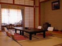 客室例・北信五岳を望む新館和室