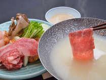 とろける霜降り♪黒毛和牛しゃぶしゃぶを堪能するプラン/夕食:レストラン