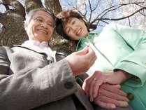 【シニア・特別】ご夫婦合計=120才以上だと、さらにお得に♪ 『悠々二人で至福の休日』