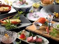 ブランド牛「佐賀牛」をメインに、一品一品に職人の技が光る懐石料理(6/1から8/31までの料理イメージ)