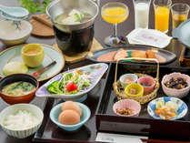 """【朝食】 心にやすらぎを """"ほっ"""" と灯す、あたたかな朝の時間を"""