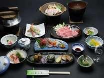 ☆甲州富士桜ポーク☆お勧め会席料理☆・・おひとり様・是非!