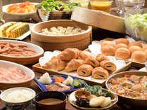 【朝食】和洋ブッフェスタイル