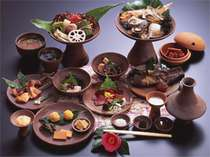 【夕食】古代食を現代人の好みに合うようにアレンジした「弥生の宴」