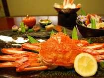 日本海の冬の味覚の代名詞「松葉ガニ」をどうぞ