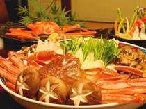 日本海の冬のグルメといえばやっぱり松葉ガニ。旬の味をお愉しみください