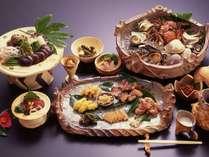 【夕食】古代料理コース『縄文の舞』