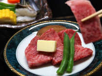 【夕食一例】ブランド肉・しまね和牛をジューシーな石板焼きでお愉しみください♪