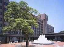 【ホテル外観】噴水広場より